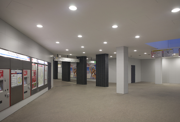 Modernisierung Schalterhalle A U-Bahn Hst. Barmbek
